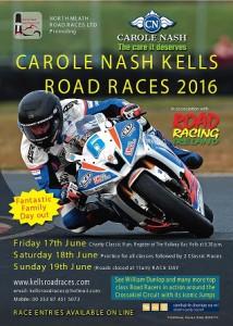 Carole Nash Kells Races 2016 A4 poster